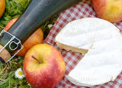 Cidre et camembert jort - idees gourmandes