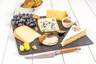 Plateau 5 fromages-les fromagesd emilien