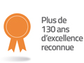 130 excellence reconnue