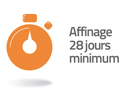 affinage 28 jours minimum