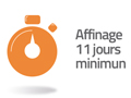affinage 11 jours minimum