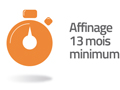 affinage 13 mois minimum
