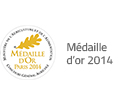 medaille or 2014