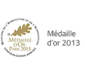 medaille or 2013