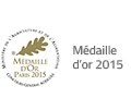 medaille or 2015